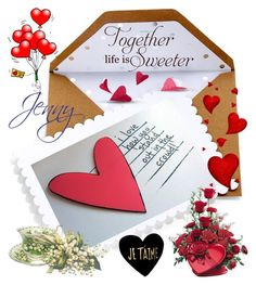 """""""Ich liebe dich für immer, mehr und mehr jeden Tag, mein Papa"""" by smile-2528 ❤ liked on Polyvore featuring mode en Sugar Paper"""