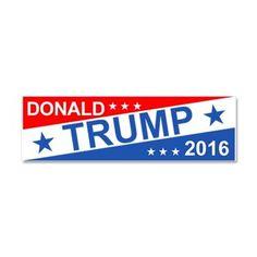 Donald Trump 2016 Car Magnet 10 X 3