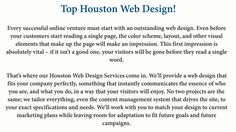 Check Out the Following Points While Choosing a Web Design Houston Company!