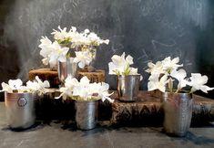 Antique French romantic Tumbler Vase Set by CabArtVintage on Etsy