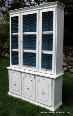 90 Best Chicken Wire Furniture Images On Pinterest In 2018 | Painted  Furniture, Cottages And Farmhouse Decor