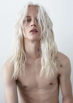 Platinum-Haired Surfer Portraits - The Dylan Fosket by Jakob Axelman Image Series is Raw and Candid (GALLERY)