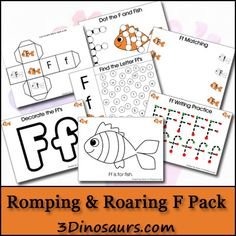 Romping & Roaring F Pack (from 3 Dinosaurs)