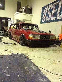 Drift Wagon..... Damn... #Saab #BornFromJets #Rvinyl =============================== https://www.rvinyl.com/Saab-Accessories.html