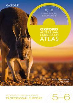Oxford Australian Curriculum Atlas Years 5-6 Professional Support Australian Curriculum, Social Science, Geography, Oxford, Teaching, History, Books, Historia, Libros