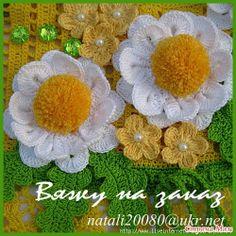 Croche flores, crochet flowers