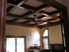 Coffered ceiling :)