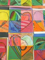 Crayola Lesson Plans - Fractional Hearts