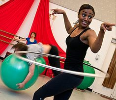 Patina Miller Hooping It Up on Broadway | http://www.hooping.org/2013/04/patina-miller-hooping-it-up-on-broadway/
