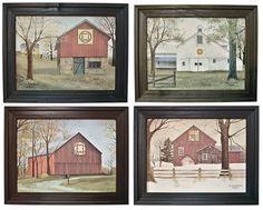 Billy Jacobs Quilt Barn Seasonal Prints - Kruenpeeper Creek Country Gifts