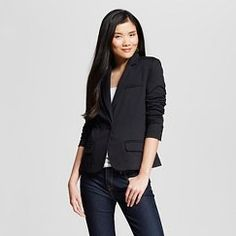 Women's Tailored Ponte Blazer - Merona™