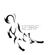 coyote tattoo: fox