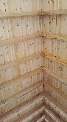 exposed rafters – Building a tiny timber frame cabin
