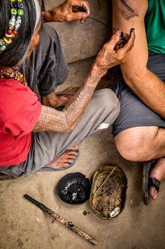 Buscalan - Provincia de Kalinga - Isla Luzón - Filipinas a visitar a Whang Od o sus herederos y tatuarme.