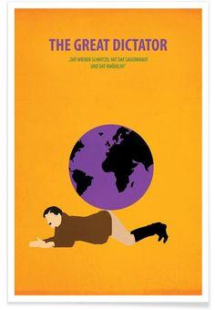 The great Dictator - Fräulein Fisher - Premium Poster