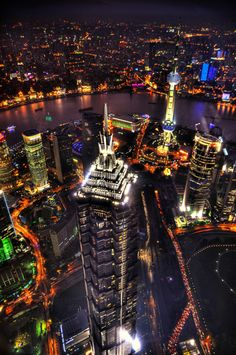 Biggest city in the entire world. Shanghai, China