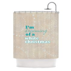 Christmas by Sylvia Cook Shower Curtain