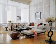 How To Feng Shui Home Meaning Of Colors. Each one of the feng shui elements has a corresponding color, along with their incorrect or imbalanced combination will lead to what is known 'bad feng shui', equaling disharmony, misfortune and unfulfilled life. Eclectic Living Room, Spacious Living Room, Formal Living Rooms, Modern Living, Modern Loft, Modern Luxury, Modern Wall, Home Design, Home Interior Design
