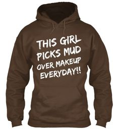 Mud Over Makeup  Just ordered this sweatshirt! Order yours to help reach the goal! :D