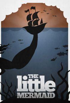 Minimalist Disney Posters. Love these!