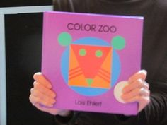 "Exploring shapes and colors with the book ""Color Zoo"" by Lois Ehlert and a flannel board graphing experience in preschool!"