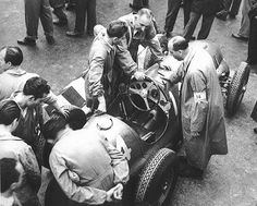 1948 monza gp - raymond sommer (ferrari 125) dnf 7 laps driver ill ...