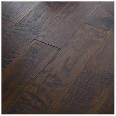 Dark wood laminate floors