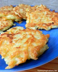 Potato Pancakes Recipe - Yummy Inspirations