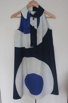 1967 Marimekko Design Research Mod Dress
