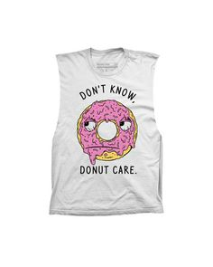 Donut Care Muscle Tank