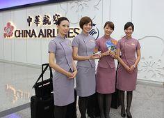 Tiếp viên hàng không hãng China Airlines