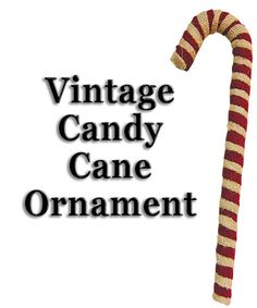 """Burlap Candy Cane 12"""" - Kruenpeeper Creek Country Gifts"""