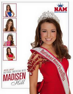 The Pageant Planet is going to interview National American Miss Madisen  Hill! #NAM
