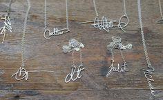 signature necklace- custom