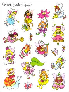 First Sticker Book - Fairies | Additional photo (inside page)