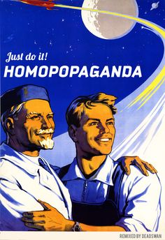 There is no law against homoPOPaganda! #queer #gayrussia
