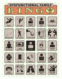 Dysfunctional Family Bingo - The Psychology Shop ha ha too funny Wedding Bingo, Wedding Games, Wedding Fun, Wedding Stuff, Wedding Photos, Dream Wedding, Wedding Ideas, Family Game Night, Family Games
