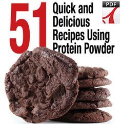 Suggestions for Protein-based desserts (Remember to discern whether this is a post-workout meal based on carbohydrate content)