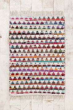 Right Angles Woven Rug- love this for a little girls room. 24.00