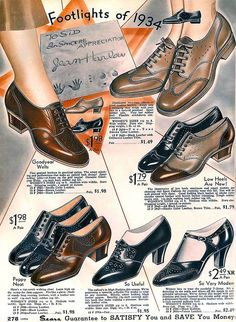 1934 ... Harlow shoes! by x-ray delta one, via Flickr