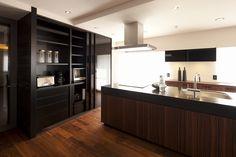 キッチン1(高台に建つ都心のセカンドハウス(リノベーション)) - キッチン事例|SUVACO(スバコ)