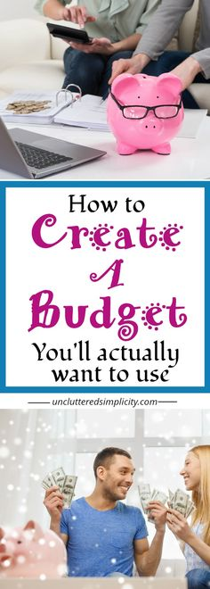 how to create a budget | how to stick to a budget | living on a budget | budgeting for beginners | create a budget on a low income