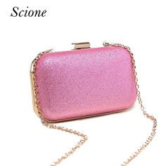 415f194dfa3 Luxury Glitter Women Wedding Bride Shoulder Bags Gold Evening Bags Party  Day Clutches Purses Wallet Sequins