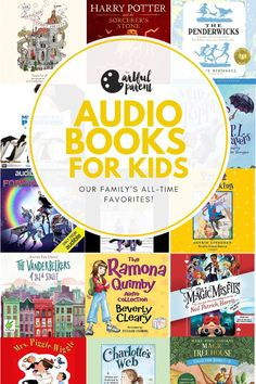 Our All-Time Favorite Audio Books for Kids and Families - Kids Audio Books - ideas of Kids Audio Books - Our All-Time Favorite Audio Books for Kids via Fun Activities For Kids, Creative Activities, Creative Kids, Book Activities, Audio Books App, Audio Books For Kids, English Books For Kids, Fun Learning, Teaching Kids