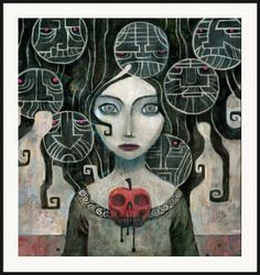 Snow White by Ken Wong | Thumbtack Press: Authentic. Affordable. Art.