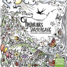 Mein Frühlingsspaziergang: Ausmalen und durchatmen: Amazon.de: Rita Berman: Bücher