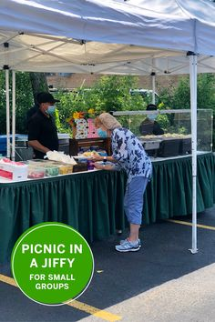 Feed your team with our new Picnic in a Jiffy package. This is perfect for small gatherings. It's safe and tasty! Picnics, Small Groups, Be Perfect, The Best, Catering, Tasty, Outdoor, Outdoors, Catering Business