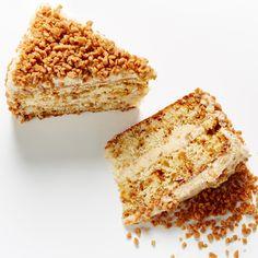 Superb Toffee Crunch Layer Cake recipe #BiteMeMore
