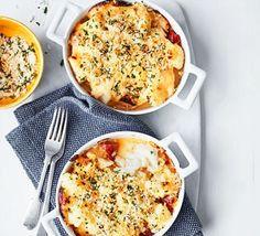 Cod, cauliflower & chorizo mornay