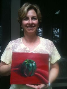 acrylic painting classes in Davidson, NC, annepharkness@gmail.com